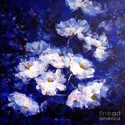 Painting - Blue Mood by Madeleine Holzberg