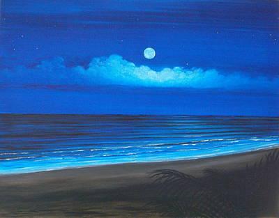Blue Moon Original by Delia Birnhak Swenson