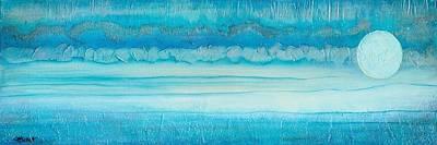 Painting - Blue Moon by Margarita Puckett