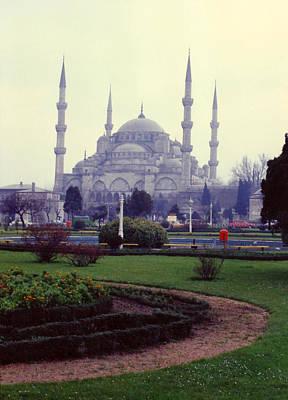 Photograph - Blue Mosque by Lou Ann Bagnall