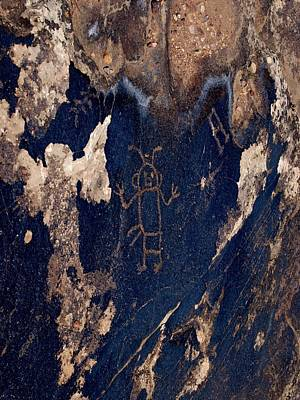 Photograph - Blue Mountain Petroglyph by Joshua House