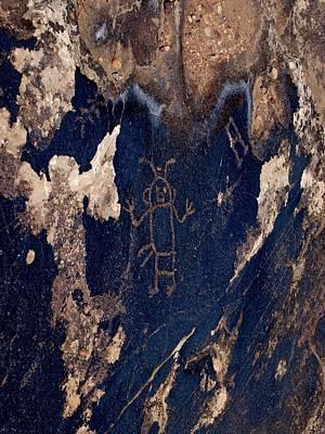 Photograph - Blue Mountain Petroglyph by Joshua House