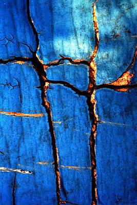 Photograph - Blue Neoprene by Jennifer Bright