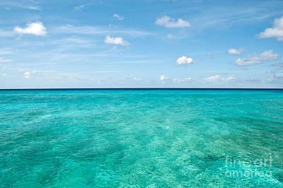 Grand Turk Island Photograph - Blue On Blue  by Jim Chamberlain