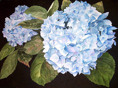Painting - Blue On Blue by Karen Casciani