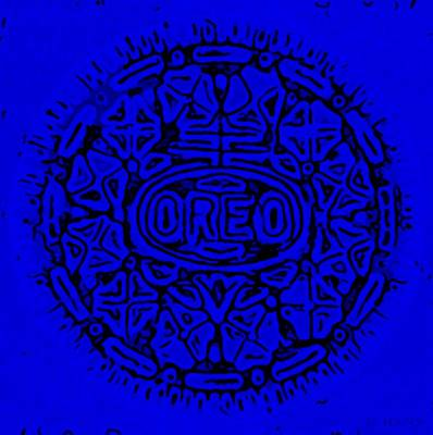 Photograph - Blue Oreo by Rob Hans