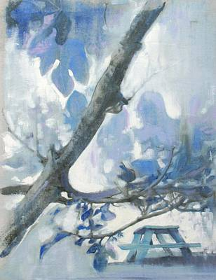 Painting - Blue Picnic by Amy Bernays
