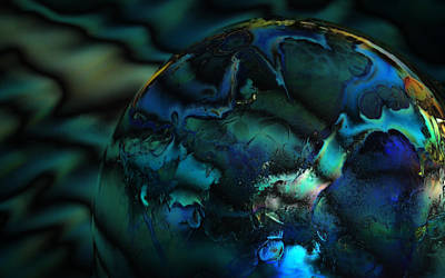 Photograph - Blue Planet by Sandra Sigfusson