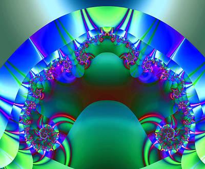 Impressionistic Digital Painting - Blue Ribbon Winner by Elaine Plesser