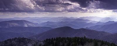 Blue Ridge Mountain Vista Art Print by Rob Travis