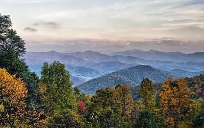 Garden Fruits - Blue Ridge Mountains in Autumn by Lynne Jenkins