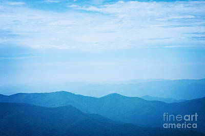 Blue Photograph - Blue Ridge Mountains by Kim Fearheiley