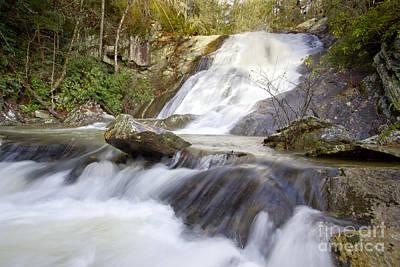 Blue Ridge Mountains Waterfall Art Print