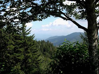 Maggie Valley Photograph - Blue Ridge Parkway View by Kathleen Palermo