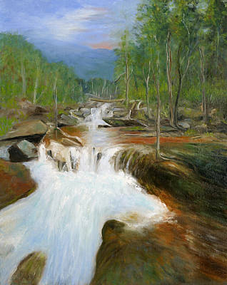 Painting - Blue Ridge Runoff by Max Mckenzie