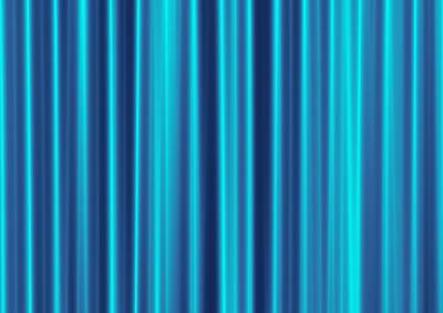 Print featuring the digital art Blue Screen by Jeff Iverson