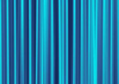 Blue Screen Art Print by Jeff Iverson