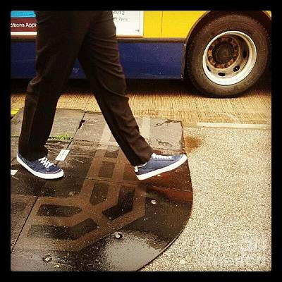 Trip Wall Art - Photograph - Blue Shoes by Isabella Shores