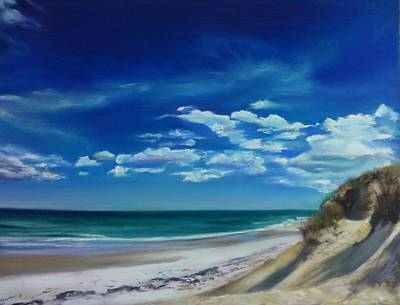 Blue Sky Walk Art Print by Laura Balboni Craciun