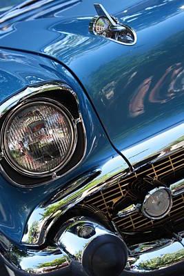 Blue Thunder - Classic Antique Car- Detail Original