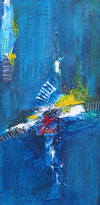 Painting - Blue Thunder by Nicole Nadeau