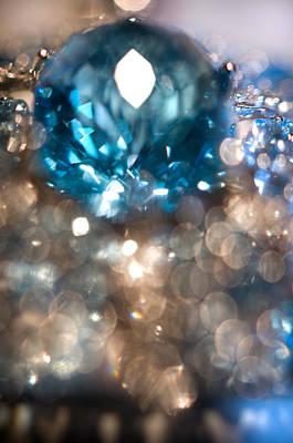 Photograph - Blue Topaz. Spirit Of Treasure by Jenny Rainbow