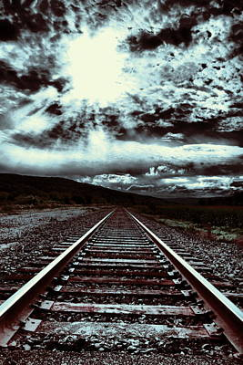Photograph - Blue Tracks by Emily Stauring