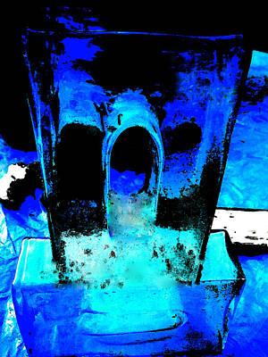 Hera Painting - Blue Turquoise Harmony by Colette V Hera  Guggenheim