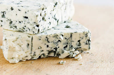 Photograph - Blue-veined Cheese by Igor Kislev