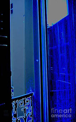 Photograph - Blue Window In Paris by Leela Arnet