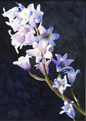 Painting - Bluebells by Ken Powers