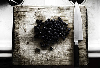 Tijuana Photograph - Blueberry Murder by Alex Leon-Afterlightfoto