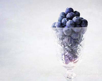 Blueberry Wine Art Print