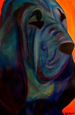 Painting - Blueblood I by Laura  Grisham