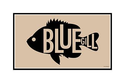 Digital Art - Bluegill by Geoff Strehlow