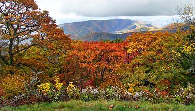Photograph - Blueridge Parkway View 3 Near Mm420 by Duane McCullough