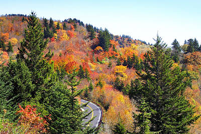 Photograph - Blueridge Parkway View Near Hwy 215 by Duane McCullough