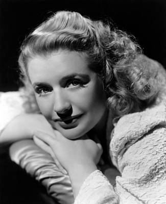 Publicity Shot Photograph - Blues In The Night, Priscilla Lane, 1941 by Everett