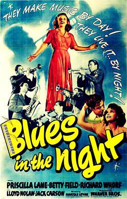Blues In The Night, Top Art Print