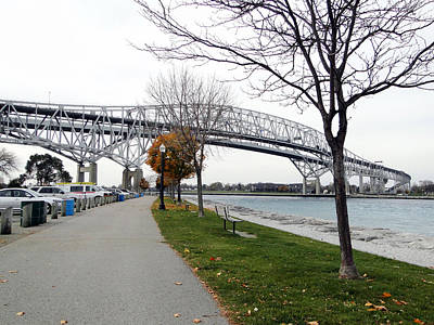 Bluewater Bridges Sarnia Port Huron Art Print