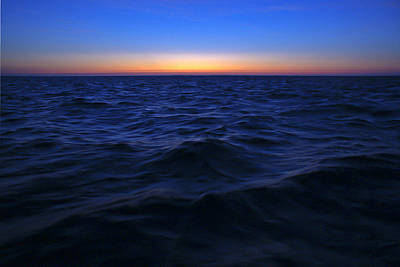 Photograph - Bluewater Sunset by Gary Eason