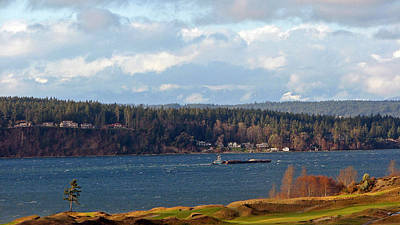 Photograph - Blustery Day On The South Sound by Chris Anderson