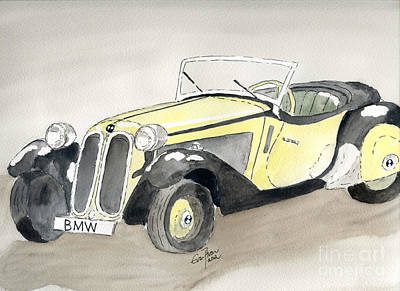 Painting - BMW by Eva Ason
