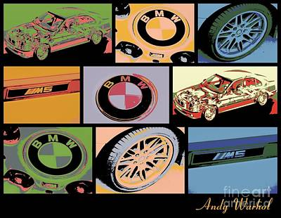 Bmw M5 V1 Art Print by RJ Aguilar