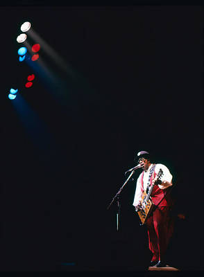Photograph - Bo Diddley On The Stage by Dragan Kudjerski