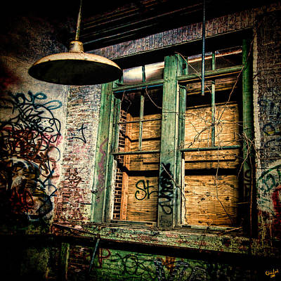 Photograph - Boarded Up by Chris Lord