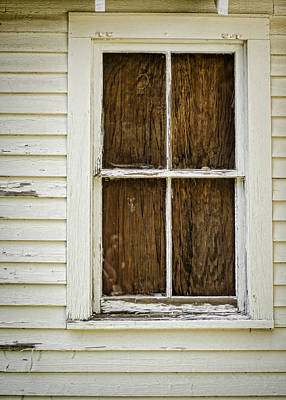 Photograph - Boarded Up by Heather Applegate