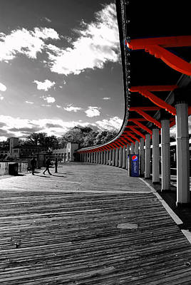 Photograph - Boardwalk 2 by Laura DAddona