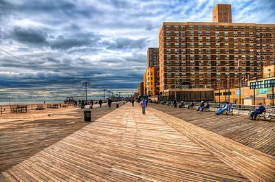 Boardwalk Brooklyn Art Print