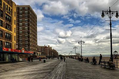 Boardwalk Brooklyn04 Art Print